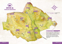 Divis & Black Mountain Heritage map