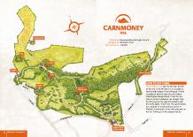 Carnmoney Hill Heritage map