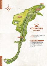 Colin Glen Heritage map