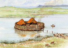 Crannog early settlers