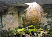 WW2 bunker inside